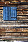 Cabin Window Prints - Home - Sweet Home Print by Heiko Koehrer-Wagner