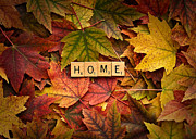 Forgive Prints - HOME-Autumn Print by  Onyonet  Photo Studios