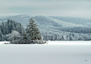 Adirondacks Prints - Home For The Holidays Print by Brian Pelkey