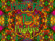 Multicolor Framed Prints - Home For The Holidays Framed Print by Robert Orinski