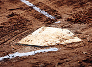 Baseball Field Prints - Home is Where the Heart Is Print by John Rizzuto