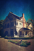 Historical Buildings Prints - Home Print by Laurie Search