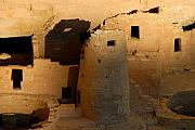 Anasazi Framed Prints - Home of the Anasazi Framed Print by David Lee Thompson