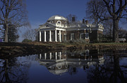 Thomas Jefferson Prints - Home of Thomas Jefferson at Monticello Print by Will & Deni McIntyre