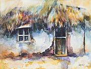 Kerala Paintings - Home Sweet Home Kerala by Kate Bedell