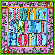 Corwin Paintings - Home Sweet Home by Pamela  Corwin