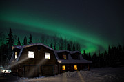 Northernlights Photos - Home Sweet Home by Ronald Lafleur