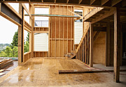 Frame House Photos - Home under construction by Inti St. Clair
