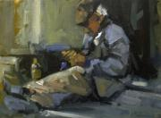 David Simons Art - Homeless by David Simons