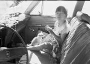 Homeless Photos - Homeless Girl Lives in Car With Her Kittens by Michael L Kimble