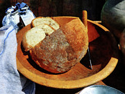 Foods Art - Homemade Bread by Susan Savad