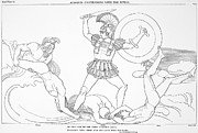 7th Century Photos - Homer: The Iliad by Granger