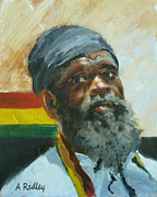 Rastafarian Paintings - Homeward by Ann Radley
