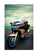 Goldwing Framed Prints - Honda Goldwing Framed Print by Mal Bray