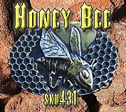 Belt Buckle Jewelry - Honey Bee by Dire Needz