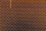 Hexagons Photos - Honeycomb Core by Mark Williamson