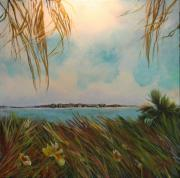 Escape Painting Posters - Honeymoon Island Poster by Michele Hollister - for Nancy Asbell