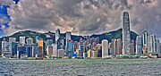 Building Photos - Hong Kong Harbour by Joe  Ng