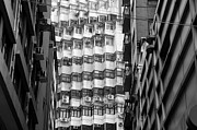 Air Conditioner Prints - Hong Kong Living I Print by Dean Harte