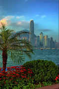 Tst Photo Prints - Hong Kong Mornings Print by Bibhash Chaudhuri
