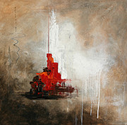 Vital Germaine Paintings - Hong Kong by Vital Germaine