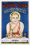 1929 Movies Framed Prints - Honky Tonk, Sophie Tucker, 1929 Framed Print by Everett