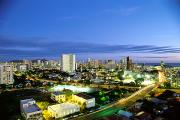 Architecture - Honolulu City Lights by Carl Shaneff - Printscapes