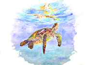 Liberation Paintings - Honu by Tamara Tavernier