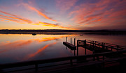 Hood Prints - Hood Canal Awakening Print by Mike Reid