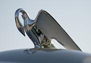 Antique Automobiles Photos - Hood Ornament II by Brian Mollenkopf