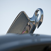 Antique Automobiles Photos - Hood Ornament III by Brian Mollenkopf