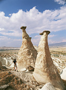Male Forms Posters - Hoodoo Rock Formations Poster by Bjorn Svensson