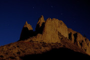 Hoodoos Prints - Hoodoos at Night Print by Peter Olsen