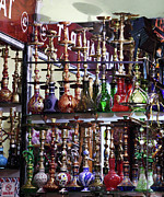 Hookah Prints - Hookah Pipes Print by John Rizzuto