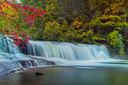 Artist With Camera Prints - Hooker Falls Print by Joye Ardyn Durham