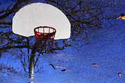 Basketballs Framed Prints - Hoop Dreams Framed Print by Jason Politte