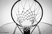 Sports Art Digital Art Acrylic Prints - Hoop Dreams Acrylic Print by Susan Stone