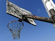 Backboards Framed Prints - Hoop Framed Print by Robert Ulmer