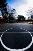 Basketball Abstract Photos - Hoops by Charles Harbin