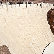 Natural Dam Prints - Hoover Dam Print by Eddy Joaquim