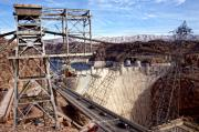 Hoover Prints - Hoover Dam Print by Frank Freni