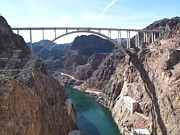 Las Vegas Photos - Hoover Dam by Marianna Sulic
