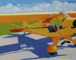 Piper Cub Prints - Hop in Print by Ron Smothers