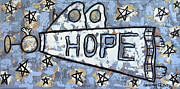 Angel Mixed Media Posters - Hope Poster by Anthony Falbo