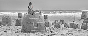 Sand Castles Metal Prints - Hope Metal Print by Betsy A Cutler East Coast Barrier Islands