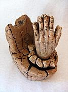 Hands Sculptures - Hope by C W Hooper