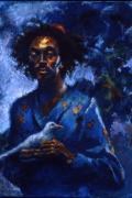 African-american Paintings - Hope by Ellen Dreibelbis