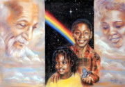 African American Pastels - Hope by Gary Williams