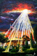 Christian Artwork Paintings - Hope In A Storm by Larry Whitler