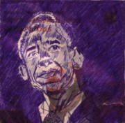 Obama Mixed Media - Hope is born by Saurabh Turakhia